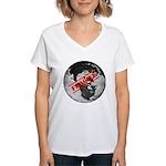 Fragile Women's V-Neck T-Shirt