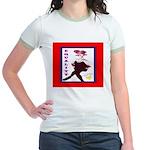 SisterFace Equality Print Jr. Ringer T-Shirt