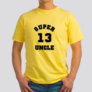 Super Uncle 13 Yellow T-Shirt