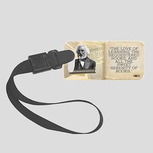 Henry Wadsworth Longfellow Histo Small Luggage Tag