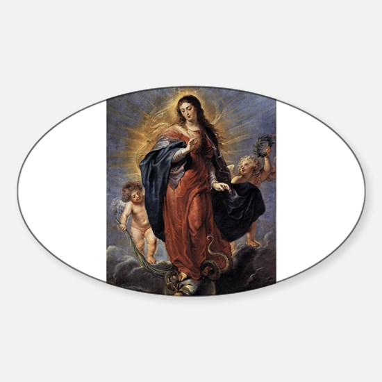 Immaculate Conception Peter Paul Rubens im Decal