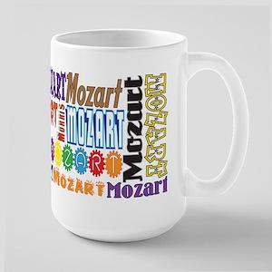 Mozart 15 Oz Ceramic Large Mug Mugs