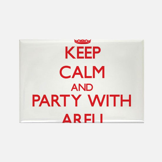 Keep Calm and Party with Areli Magnets