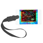 Minister SisterFace Graphic Large Luggage Tag