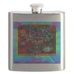 Minister SisterFace Graphic Flask