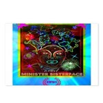 Minister SisterFace Graphic Postcards (Package of