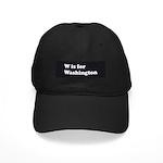 W is for Washington Black Cap
