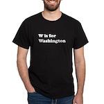W is for Washington Dark T-Shirt