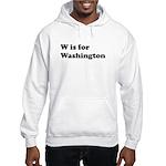 W is for Washington Hooded Sweatshirt