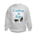 Carting is Fun JAMD Kids Sweatshirt