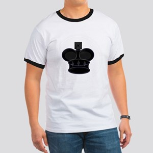 Black King Chess Game Piece T-Shirt