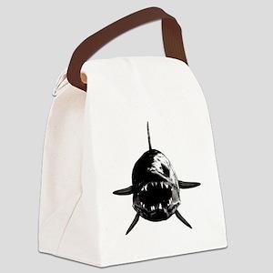 Walleye fangs Canvas Lunch Bag