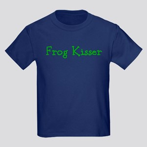 Frog Kisser Kids Dark T-Shirt