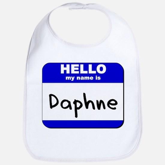 hello my name is daphne  Bib
