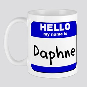 hello my name is daphne  Mug