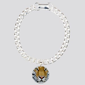 Tiger Charm Bracelet, One Charm