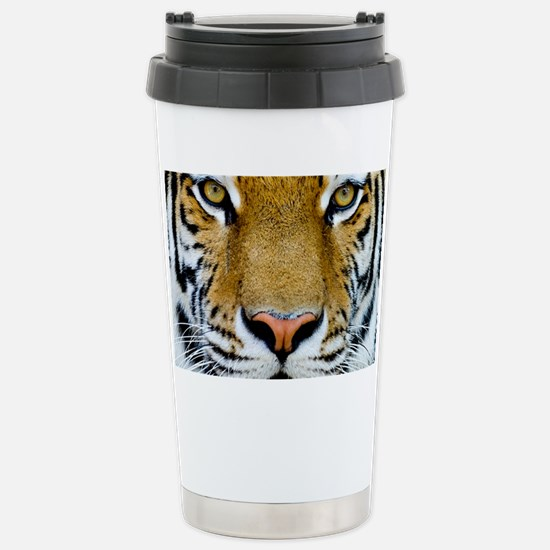 Big Cat Tiger Roar Stainless Steel Travel Mug