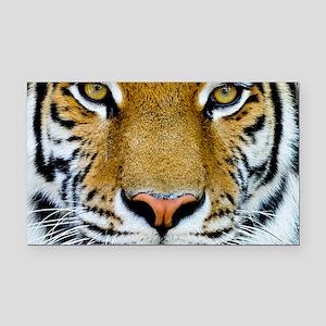 Big Cat Tiger Roar Rectangle Car Magnet