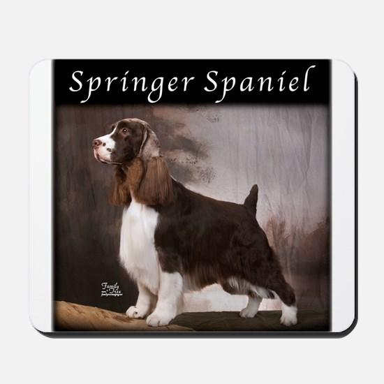 Springer Spaniel Mousepad