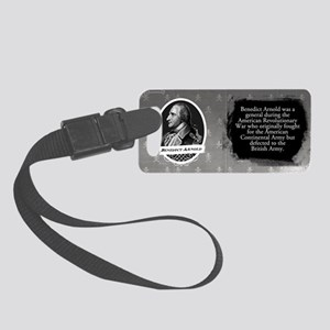 Benedict Arnold Historical Small Luggage Tag