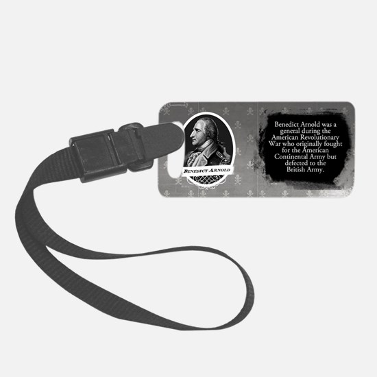 Benedict Arnold Historical Luggage Tag