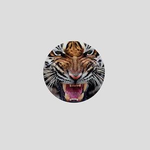 Big Cat Tiger Roar Mini Button