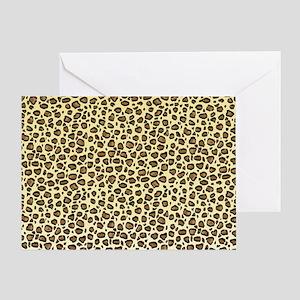 Leopard Animal Print Greeting Card