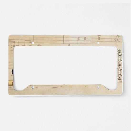 Richard Wagner Historical License Plate Holder