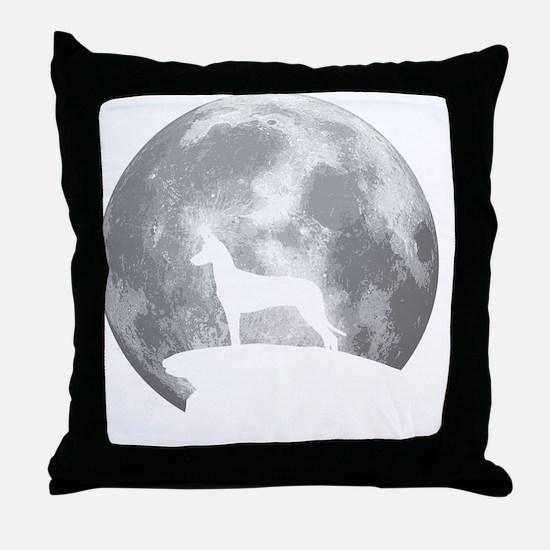 Cute Pharaoh hound Throw Pillow