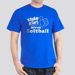 This Girl Loves Softball T-Shirt