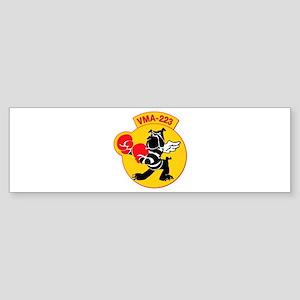 USMC - Marine Attacks Squadron 223 Sticker (Bumper