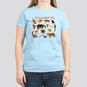 Animals of the Monteverde Cl Women's Light T-Shirt