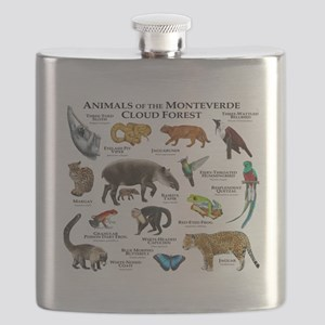 Animals of the Monteverde Cloud Forest Flask