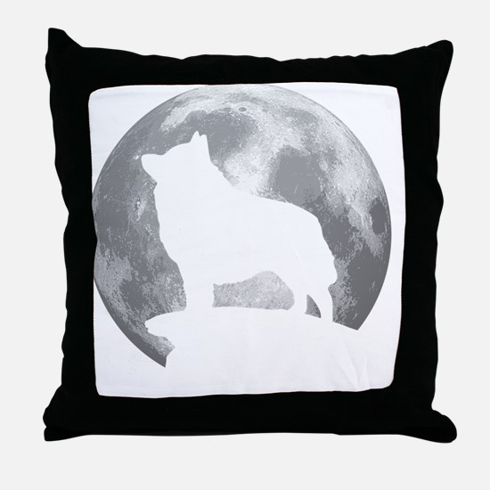 Cute Schipperke Throw Pillow