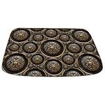 Antique Bronze Pattern Bathmat