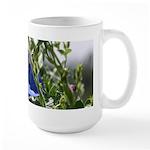 bee & Morning Glory -Large Mug