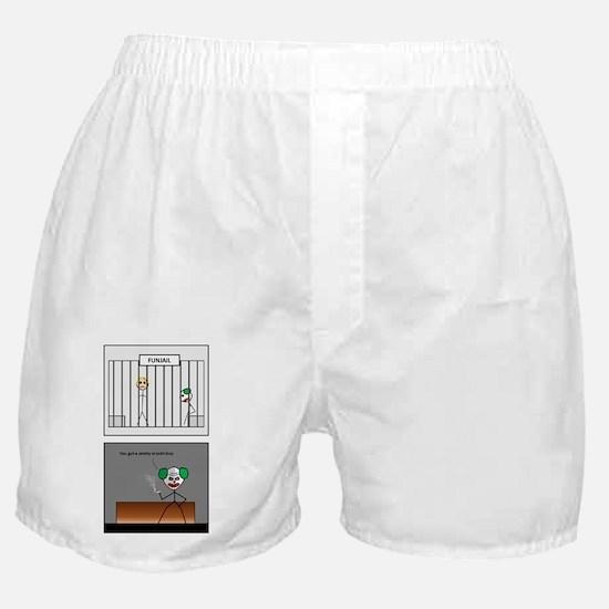 fun jail Boxer Shorts