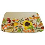 Golden Thanksgiving Bathmat