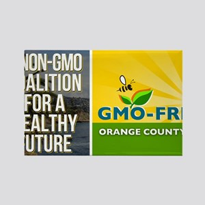 GMO-Free OC Business Card Rectangle Magnet