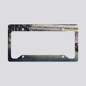 Greyhound Racing License Plate Holder
