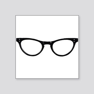 Librarian Glasses Sticker