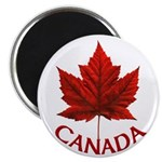 "Canada Maple Leaf Souvenir 2.25"" Magnet (10 pack)"