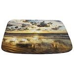 Golden Surf Sunrise Bathmat
