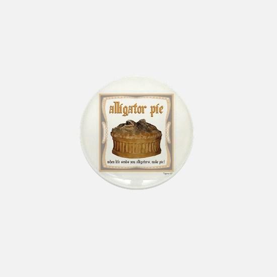 Alligator Pie Mini Button
