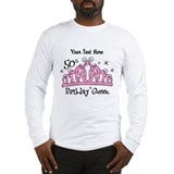 50th birthday queen Long Sleeve T-shirts