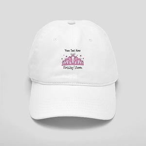 Personalized Tiara Birthday Queen Cap