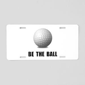 Be Ball Golf Aluminum License Plate