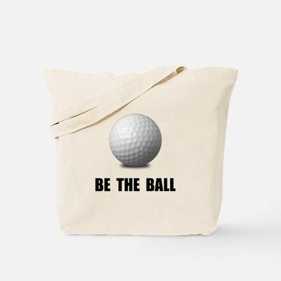 Be Ball Golf Tote Bag