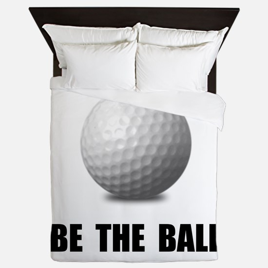 Be Ball Golf Queen Duvet