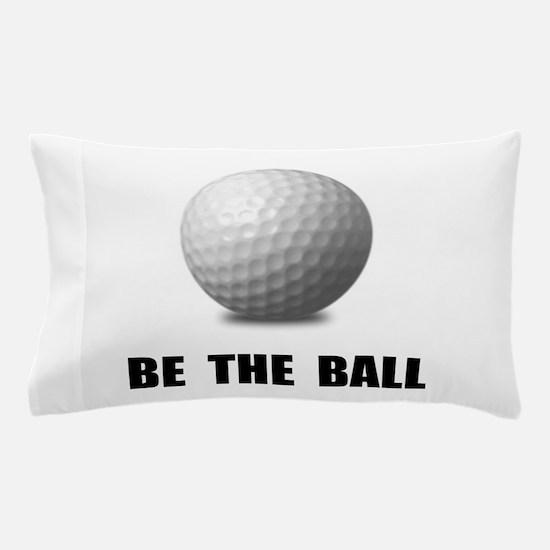 Be Ball Golf Pillow Case